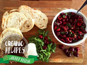Organic Recipes : Cherry Relish