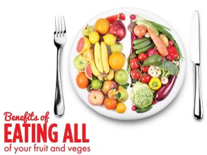Benefits of Eating All of Your Fruit and Vegetables