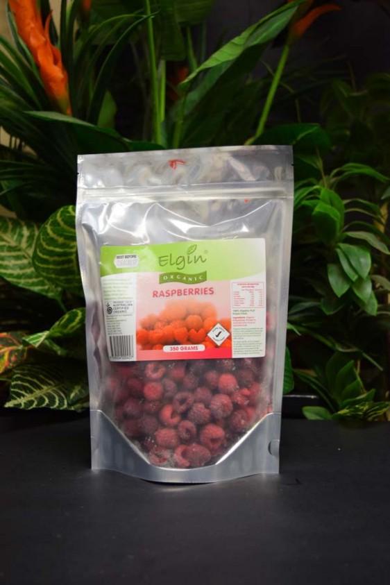 ORG Organic Frozen Raspberries 350g