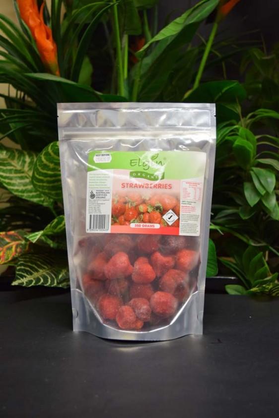 ORG Organic Frozen Strawberries 350g