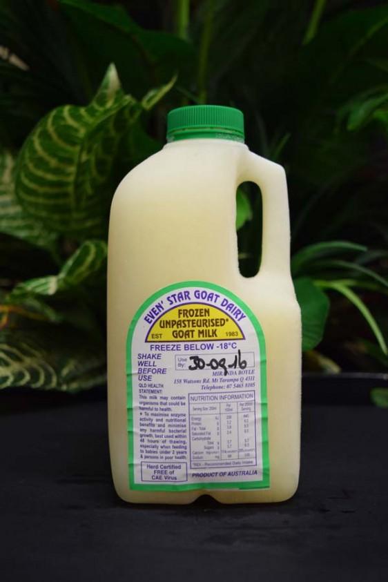 Frozen Goats Milk 1lt
