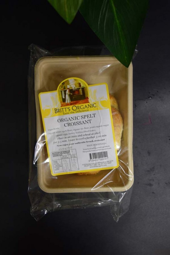 UO Organic Spelt Croissants (Frozen 2 pack)