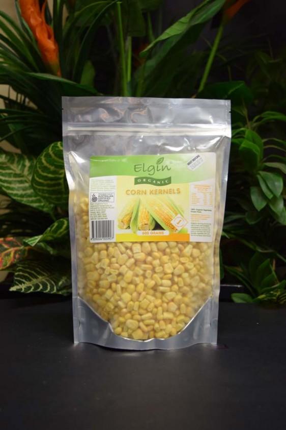 ORG Organic Frozen Sweet Corn 600g